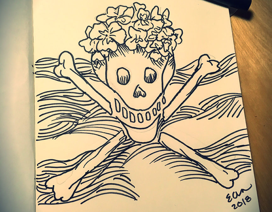 Inktober is here! First prompt: Poisonous