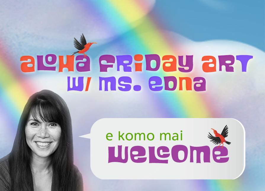 Aloha Friday ART is Here!