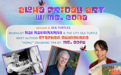 Aloha Friday Art: SEA TURTLES